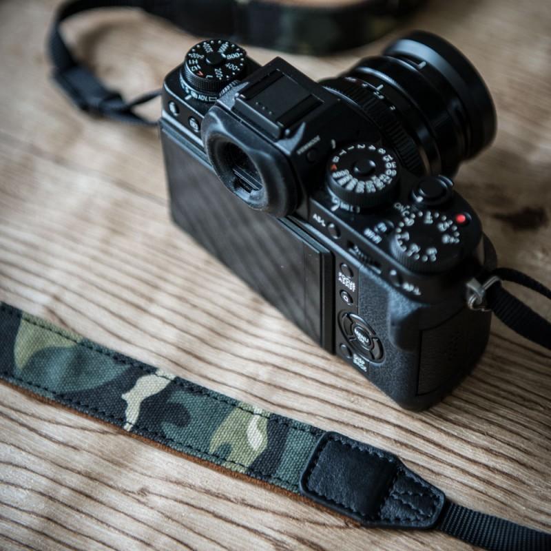 Leather & Camo strap