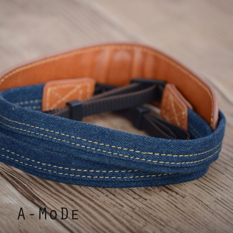 CS-DE Leather & Denim strap